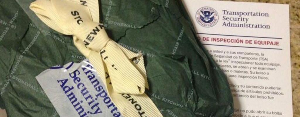 TSA gift wrapping skills