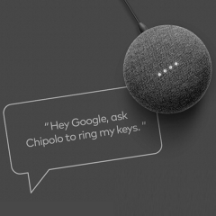 Hey Google, ask Chipolo to find my keys