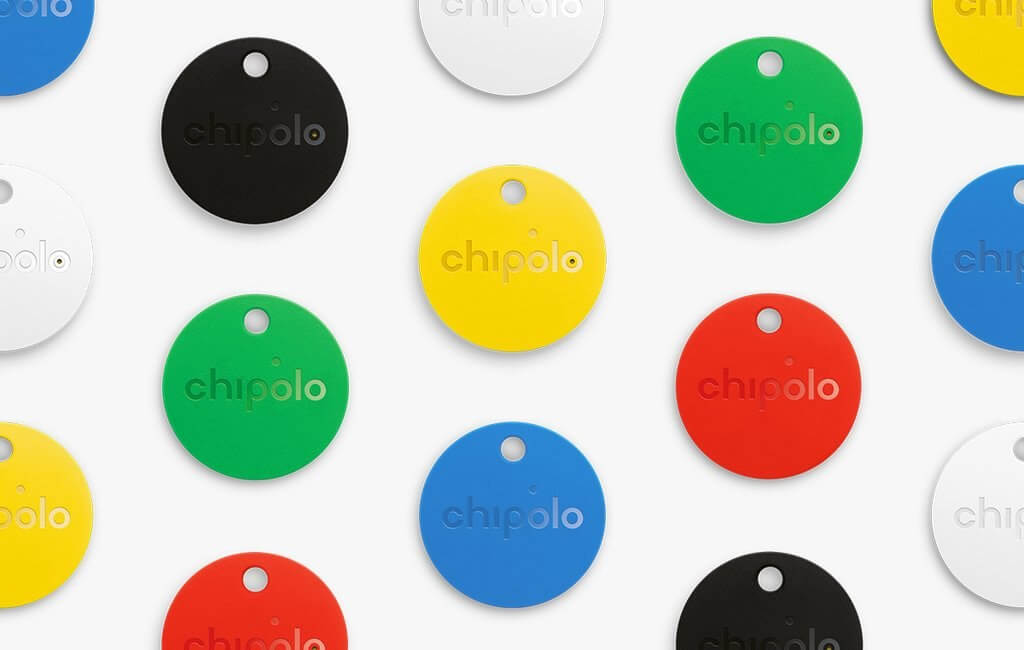 chipolo new chipolo colors to help you battle this winter