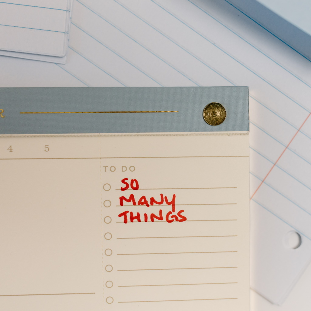 to do list for the next day